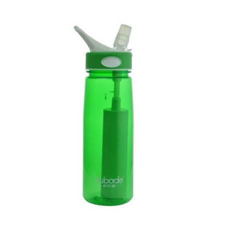 旅行必备自来水滤水杯弱碱性滤水杯活性碳直饮水瓶登山户外净水壶