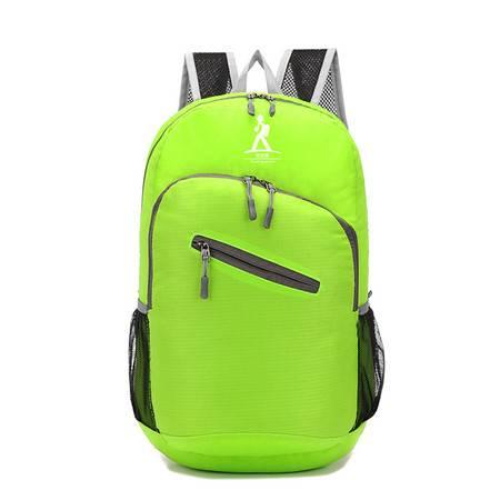 户外皮肤包 可折叠双肩背包 学生书包防水登山包妈咪包背包放心淘