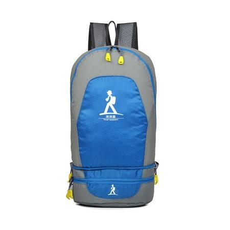 双肩包可变腰包收纳腰包男包女包多功能可折叠背包轻便双肩腰挂包