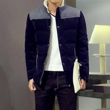冬装新款男式羽绒服男潮韩版轻薄男士羽绒服男外套D00090