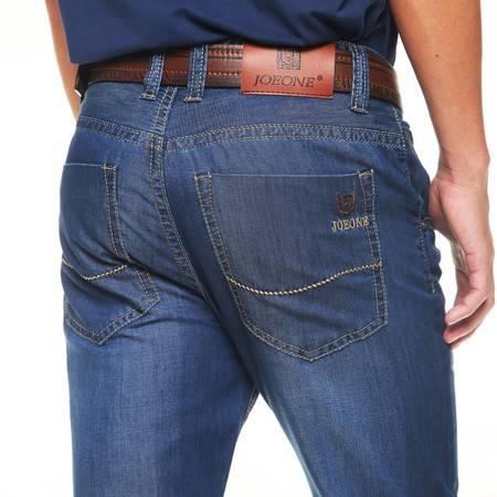 D男式牛仔裤商务宽松大码直筒男装牛仔长裤修身男牛仔裤6224