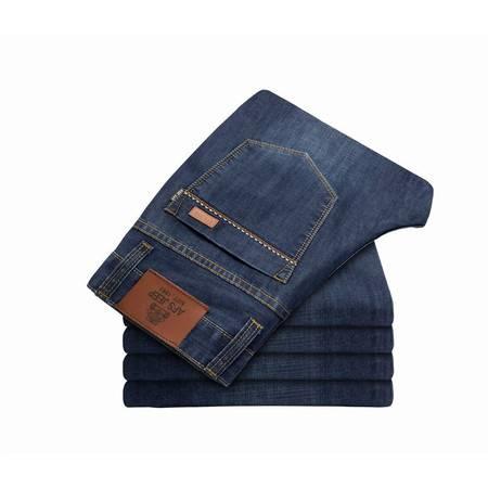 D男式牛仔裤长裤男装加大码直筒男士牛仔裤8028