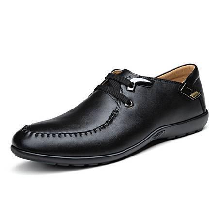 俊斯特爆款舒适软底经典车缝线日常休闲鞋子时尚潮男鞋子