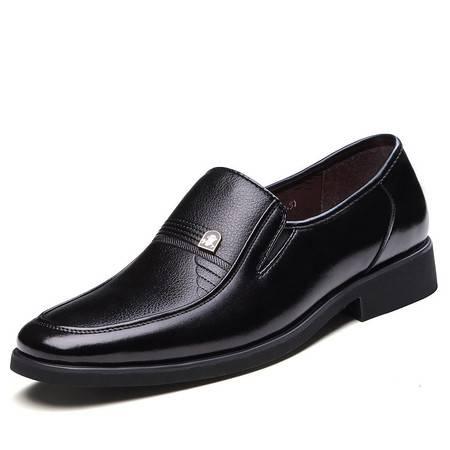俊斯特春季新款经典男士商务正装皮鞋单鞋时尚男鞋子