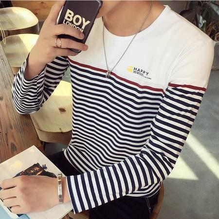 G2016秋新款男装长袖圆领T恤潮Q1062