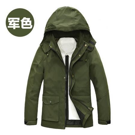 Z15801#战地吉普秋冬新款韩版休闲时尚男士正品夹克