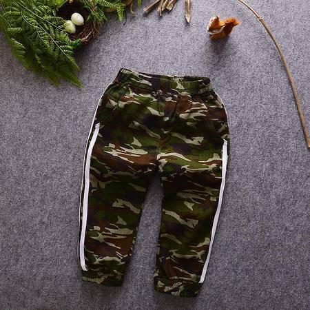 M2016秋装新款儿童装 韩版男童迷彩裤宝宝长裤休闲儿童运动裤时尚