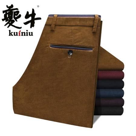 K2016秋季新款中年男士商务休闲裤弹力时尚休闲男裤免烫休闲男裤
