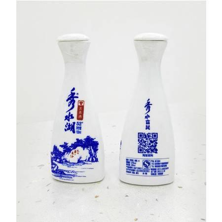 千岛湖特产 秀水湖52%Vol  100ml 青花瓶