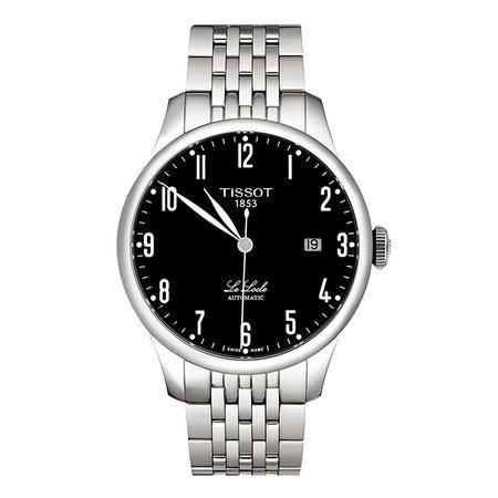 天梭(TISSOT)手表 力洛克系列钢带机械男表T41.1.483.52