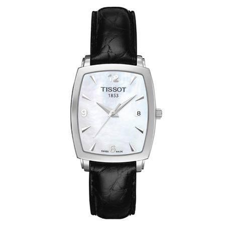 天梭(TISSOT)手表 魅时系列皮带石英女表T057.910.16.117.00
