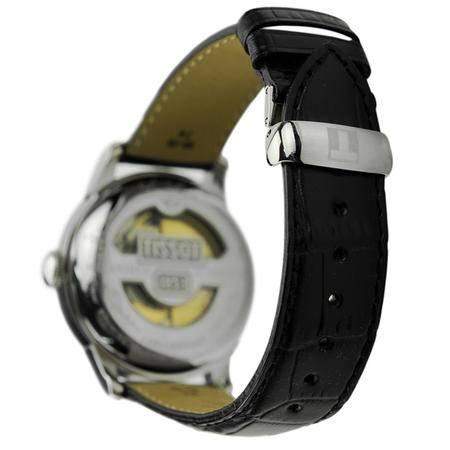 天梭(TISSOT)手表 力洛克系列皮带机械男表T41.1.423.33
