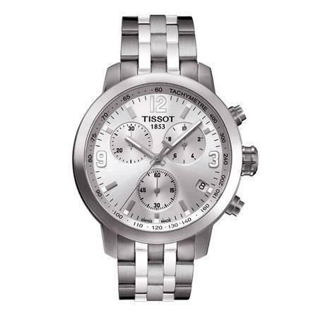 天梭(TISSOT)手表PRC200系列钢带石英男表 T055.417.11.017.00