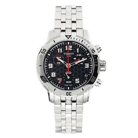 天梭(TISSOT)手表 运动系列钢带石英男表T067.417.11.052.00