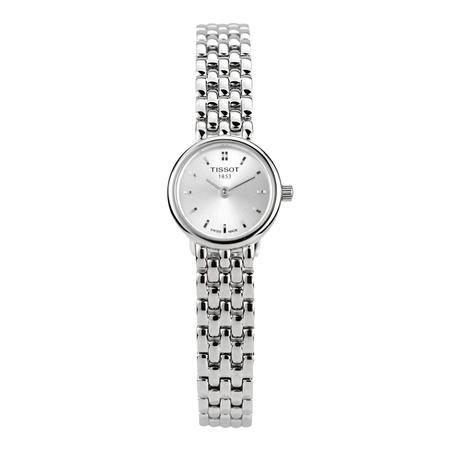 天梭(TISSOT)手表 时尚系列钢带石英女表T058.009.11.031.00