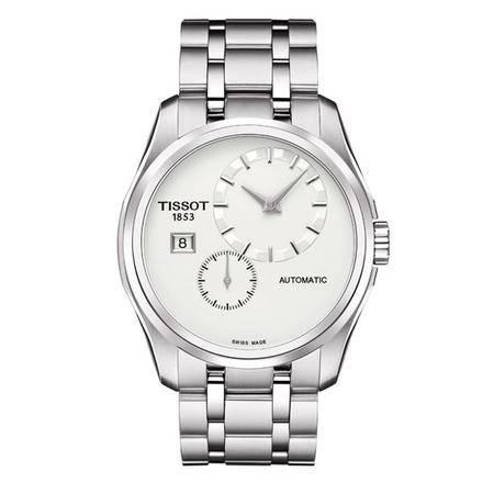 天梭(TISSOT)手表 时尚系列钢带机械男士手表T035.428.11.031.00