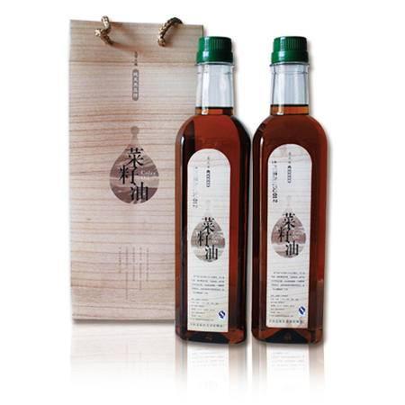 青阳馆  莲花峰压榨菜籽油0.75升/瓶