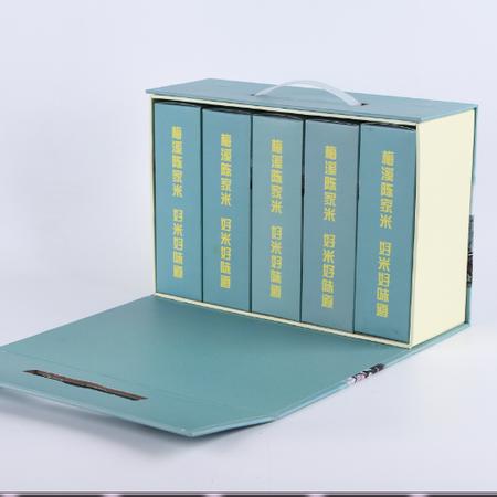 青阳馆  梅溪陈家  精品大米真空包装 (1kg/袋)*5/盒