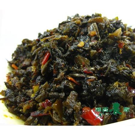 湖南特产 农家私房菜下饭菜 茶油天椒青菜腌菜泡菜酱菜 即食万菜200g