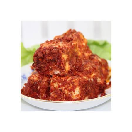 湖南特产 湘西小吃农家手工木桶香辣豆腐乳霉豆腐木子红油豆腐乳250g
