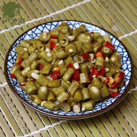 湖南酸辣酸豆角 特产酸豇豆 下饭菜 坛子泡菜咸菜腌菜酱菜  酸酸250g