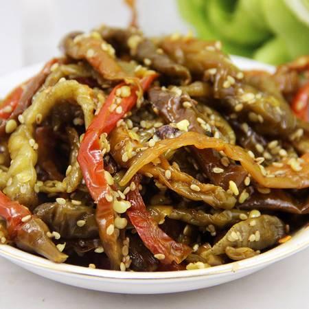 丹青农家手工泡菜 湖南特产芝麻酸辣椒泡椒下饭菜 开袋可吃的开胃酸辣椒