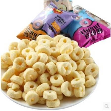 【邮乐濮阳馆】TQ食者聪甜甜圈85g 膨化食品 零食大礼包组合 10包起售