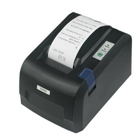掌柜装备 热敏票据打印机58mm 超市收银POS小票机并口