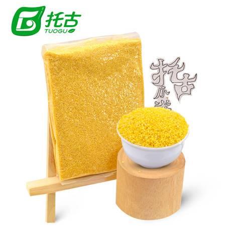 托古小米410g 绿色食品营养黄小米大米散装 东北特产杂粮