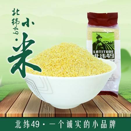 【北纬49】黑嫂小米400g袋装 东北黑龙江绿色非转基因优质小米宝宝月子米粥原料五谷杂粮