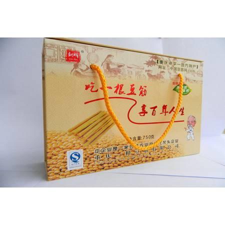 """重庆特产""""一根""""豆筋750G/袋"""