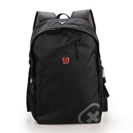 瑞士军刀新款男士双肩包 时尚休闲电脑包 多功能户外背包旅行包男SA1498