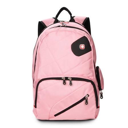 瑞士军刀男士双肩包14寸笔记本旅行包多功能背包女学生书包SA008