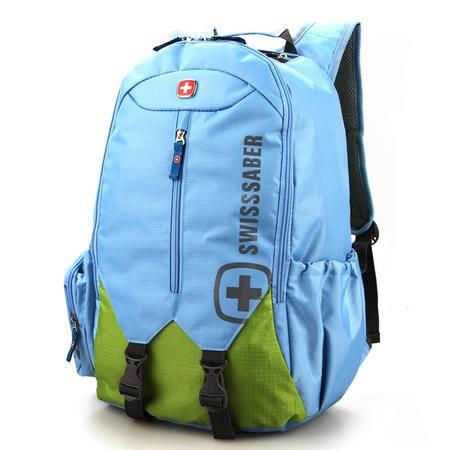 瑞士军刀男士运动休闲双肩包韩版商务旅行背包电脑包多色潮SA1658
