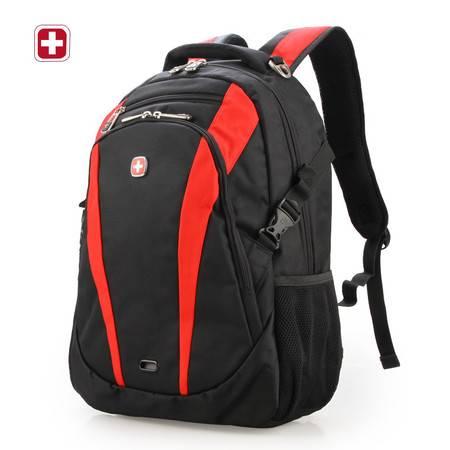 瑞士军刀2015新款欧美男士双肩包15.6寸商务电脑包时尚男休闲背包SA8817