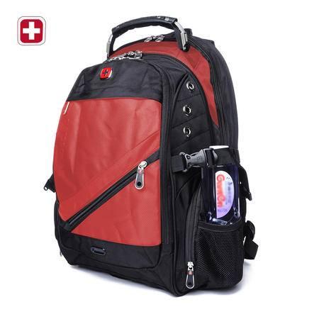 瑞士军刀男士双肩包韩版时尚背包商务休闲电脑包旅行包男包SA1418
