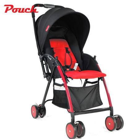 Pouch夏季婴儿推车 轻便婴儿车可折叠伞车 A08