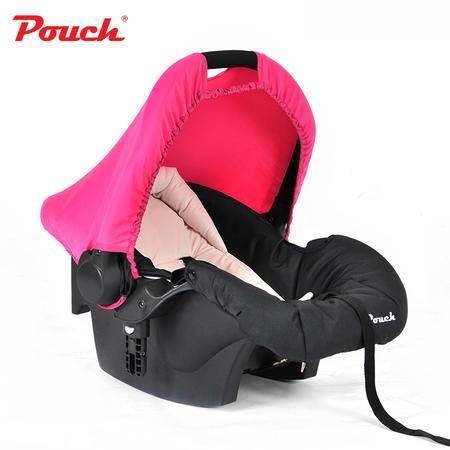Pouch婴儿提篮新生儿汽车安全座椅婴幼儿车载睡篮宝宝摇篮3C认证Q07