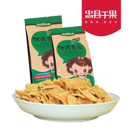 【忠县馆】忠县干果 锅巴(160gx2/袋)