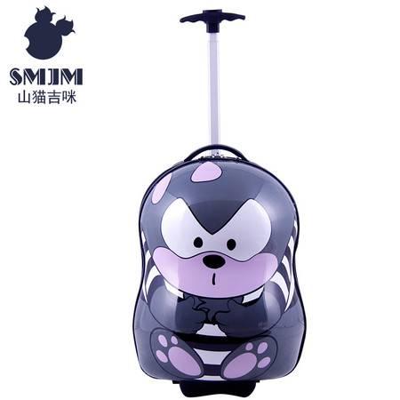 17寸山猫吉咪八字拉杆旅行箱 辛克款儿童行李箱