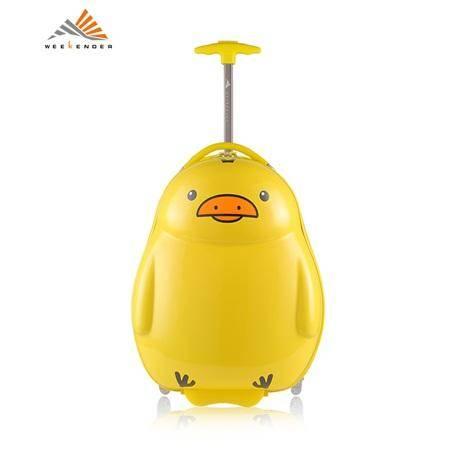 WEEKENDER ABS+PC 儿童系列万向轮拉杆箱 17寸鸭子 CL2087-17-D02