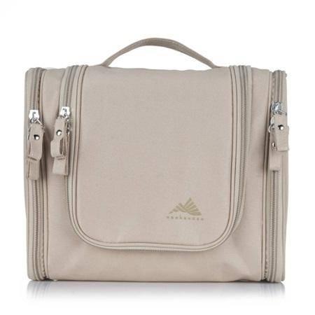 WEEKENDER 旅行洗漱包 男士女防水化妆包旅游用品套装收纳包袋 米白色XS001-93