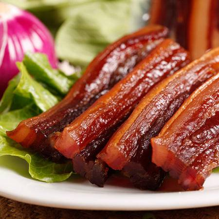 钟沟野猪五花腊肉