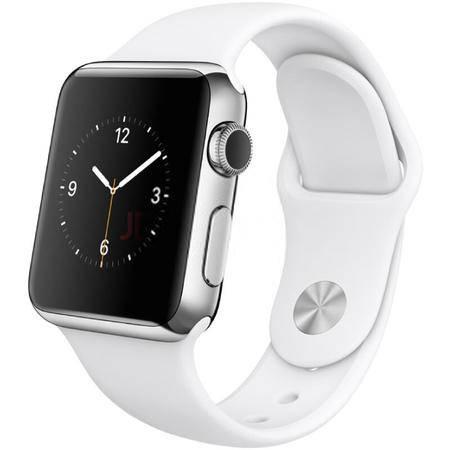 苹果 Apple Watch运动型表带 搭配按扣加收拢式表扣  38毫米 TPU运动表带