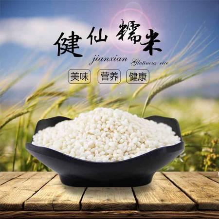 六月曝 农家新糯米 白糯米 包粽子 圆糯米 有机五谷杂粮500g包邮