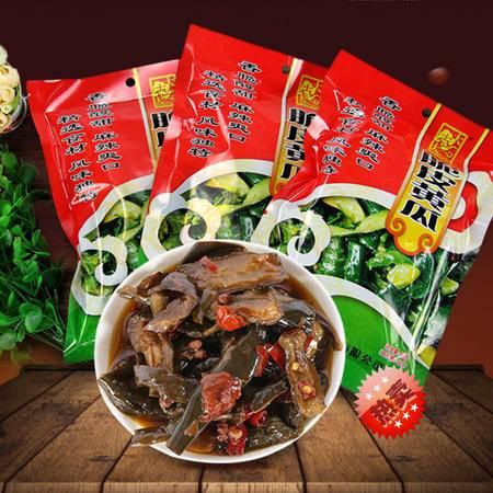 湖北仙桃特产 大志大脆皮黄瓜 农家腌菜腌黄瓜泡菜下饭菜开袋即食400G