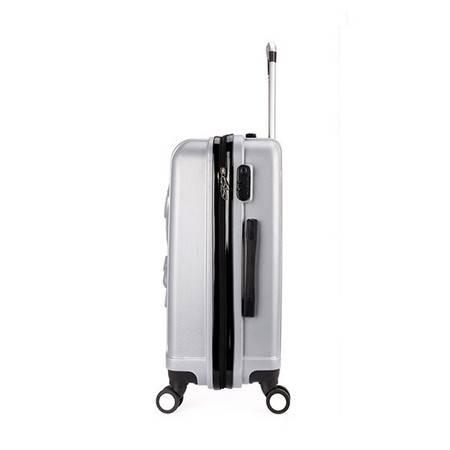 Global Freeman 韩版时尚潮流卡通压花拉杆箱ABS万向轮行李箱 DM001