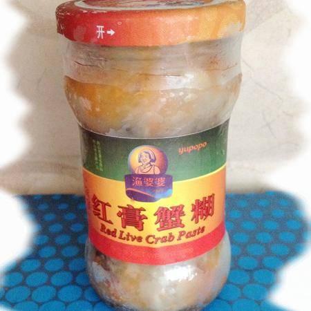 舟山海鲜特产 渔婆婆 红膏蟹糊\蟹浆\梭子蟹酱(限江浙沪)