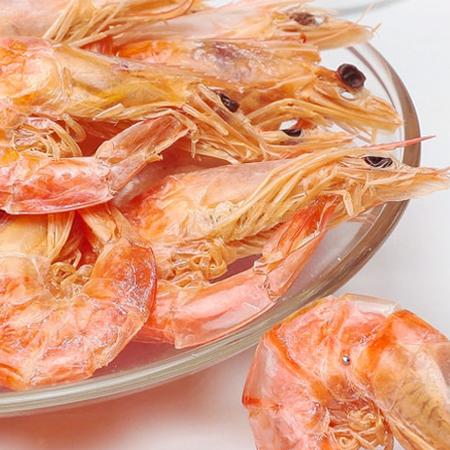 舟山特产 虾干 渔民自晒 虾特级对虾干 干货年货即食海味250g全国包邮