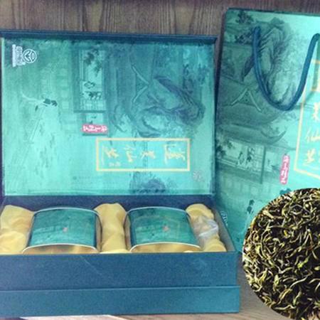 岱山蓬莱仙芝 茗茶 优质绿茶 明前 茶叶250g罐装礼盒装送礼佳品